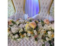 Events decoration and wedding