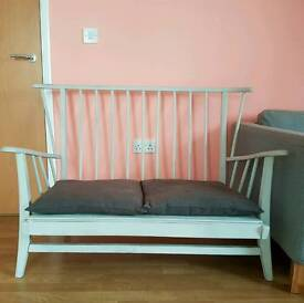 Ercol style 2 seater sofa / chair