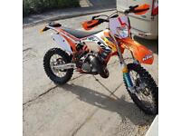 2015 ktm 125 exc swap nice car or van