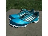 Blue Adidas Adizero golf shoes size 9