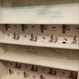 Gorgeous Matilda themed large bookcase.