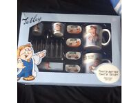 Tetley breakfast set