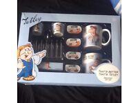 Tetley breakfast set