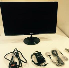 "(Like new) Philips Full HD (1080p) 21.5"" LED screen"