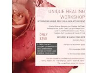 Unique healing Workshop