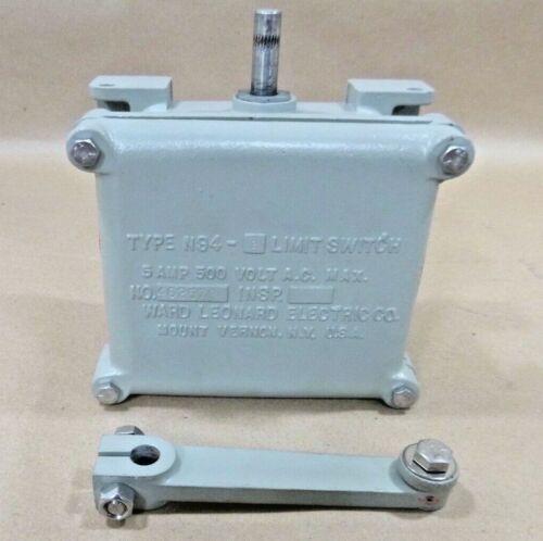 U.S. Navy Limit Switch Type N94-2, Ward Leonard 5930-00-258-4241, 13761-101-1