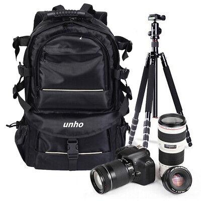 Large Digital Camera Bag Travel Backpack SLR DSLR Case for Nikon Sony Canon Case