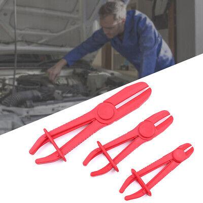 3Pc Flexible Hose Clamp Set Pipe Pliers Clamping Tool Radiator Brake Hoses Fuel
