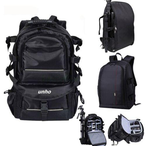 Big Bag Camera Backpack DSLR/SLR/TLR fr Nikon Sony Canon Len