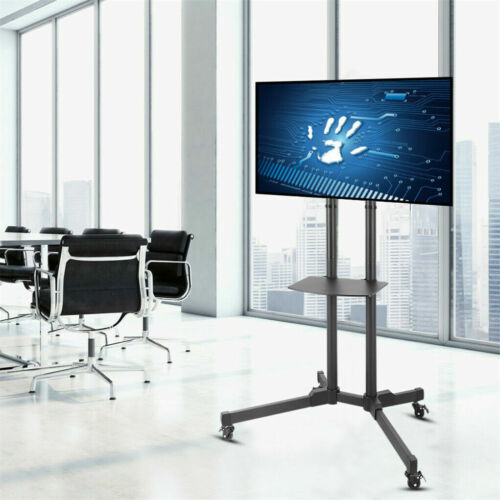 Mobile Cantilever TV Stand Cart Floor Stand TV Mount Bracket