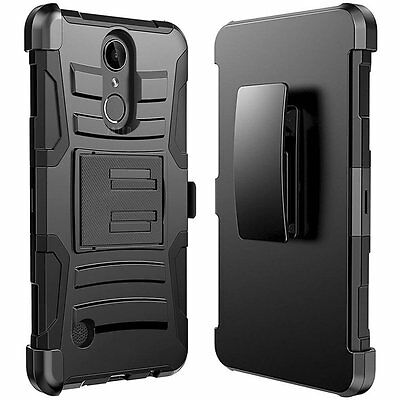 LG Zone 4 Holster Belt Clip Combo Cell Phone Case With Kick Stand Cover Verizon Verizon Cell Phone Cover