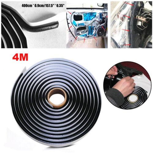 Car Parts - 4M Car Trim Sealant Black Butyl Rubber Automotive Headlight Reseal Retrofit Glue