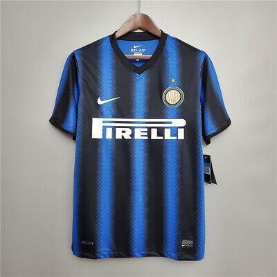 2010-11 Inter Milan Home Soccer Jersey image