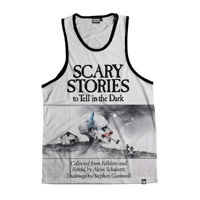 NEW Beloved Shirts SCARY STORIES Tank Top SMALL-2XLARGE CUSTOM MADE IN THE USA - Scary Customs