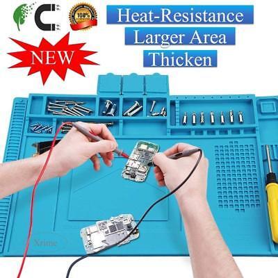 Anti-static Soldering Welding Matpad Cellphone Repair Mat Heat-resistant Magne