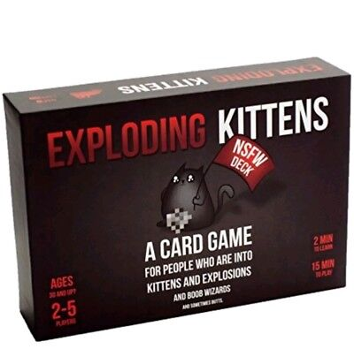 Exploding Kittens  Nsfw Edition  Explicit Content Adults Only