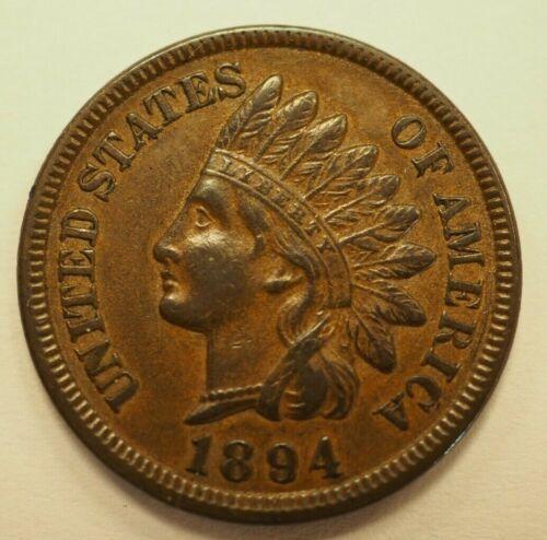 1894 Indian Head Cent 1c #208