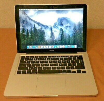 Apple MacBook(13-inch, Aluminum, Late 09)Core 2 Duo @ 2GHz 4GB Ram 320GB HD