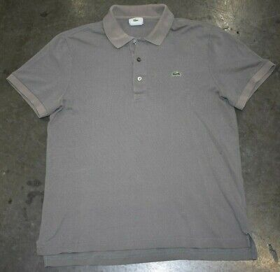 Lacoste Mens Polo Shirt Light Green Size 4 Small