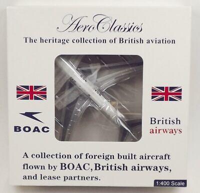 AeroClassics BOAC Boeing 707-336C  'G-AVPB' 1/400 Scale Diecast Model