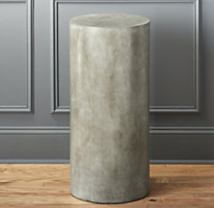 CB2 CONCRETE SIDE TABLE