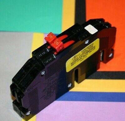 Zinsco Rc-38 Twin 20 Amp Breaker Tandem Thin 2-120 Volt Circuits