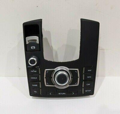 2004-2010 Audi A8 S8 Center Console MMI Multimedia Interface Switch Panel