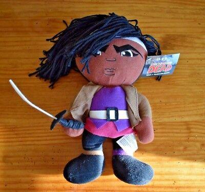 The Walking Dead Michone Series 1 Character Figures doll Plush Peek A Boo  - Walking Dead Halloween Doll