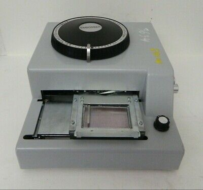 70-character Pvc Card Embosser Stamping Machine