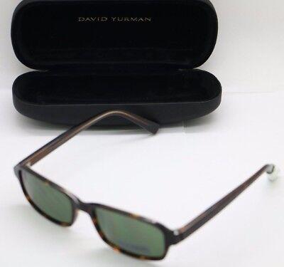 David Yurman Designer Sunglasses with Anti-Reflective Coating DY611-02 in Tortoi