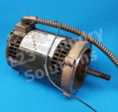 Double Stack Dryer Motor 14hp 1ph 60hz For Speed Queen Pn 703376-01 Used