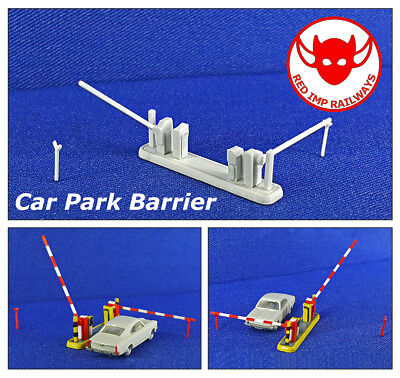 N Gauge - Car Park Barrier - Model Railway Kit for sale  Shipping to United States