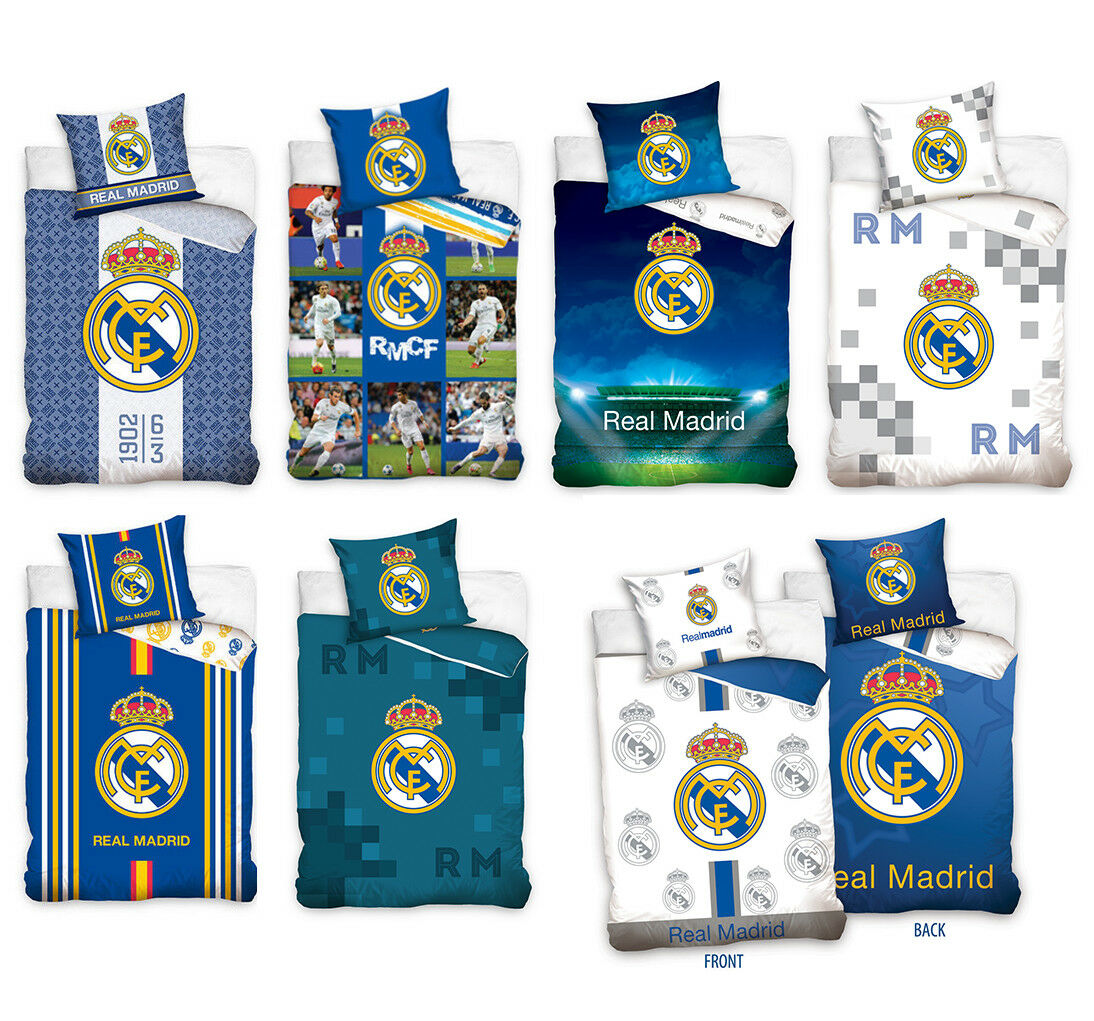 купить Ronaldo Fußball Bettwäsche Real Madrid Football 135x200