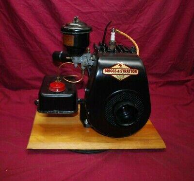 Briggs Stratton Model Wi Woil Bath Gas Tank Gas Engine Motor