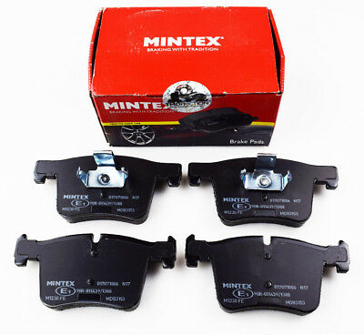 BRAND NEW MINTEX FRONT BRAKE PADS SET MDB3153 (REAL IMAGES OF THE BRAKE PADS)