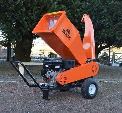Venom wood timber chipper / shredder garden mulcher Petrol driven portable 13hp
