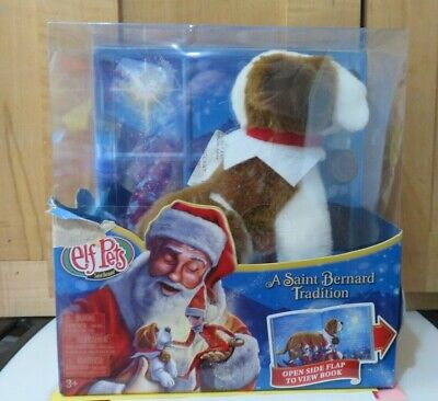 Elf on the Shelf Pets: A St. Bernard Tradition Plush Includes Hardcover Book