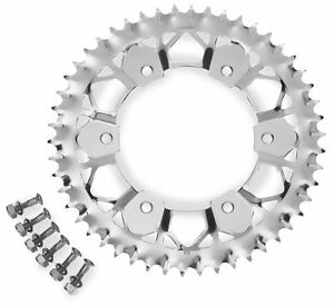 Sunstar-8-355951E-Works-Z-Rear-Sprocket-Matte-Silver-51T