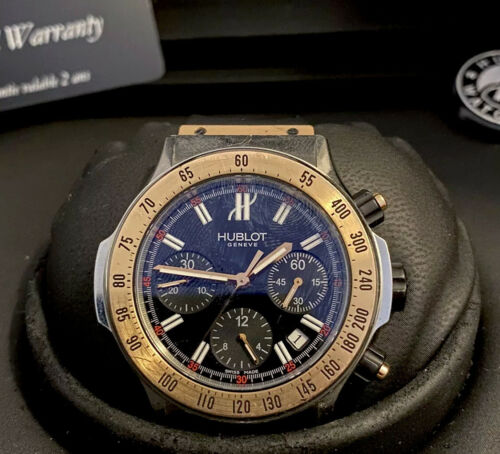 Hublot Super B Chronograph 18k Rose Gold and Stainless Steel 42mm - watch picture 1
