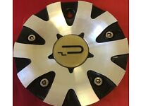 SQUARE Wheels C Square C2-A Chrome Wheel Center Cap C Square Wheels