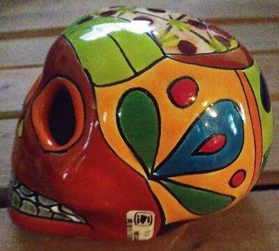 Authentic from Mexico Sugar Skull Dia De Los Muertos All Souls Day of Dead
