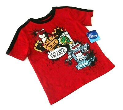 Disney T-Shirt 104/110 Toy Story USA size 5 Junge kurzarm Woody Buzz Sommer neu ()