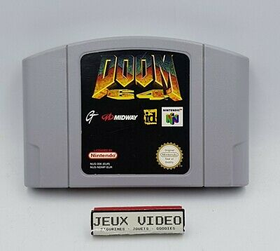 Doom 64 Nintendo N64 PAL