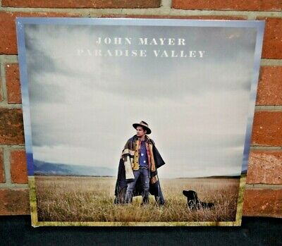 JOHN MAYER - Paradise Valley, Import 180G BLACK VINYL LP + ALBUM CD New & Sealed