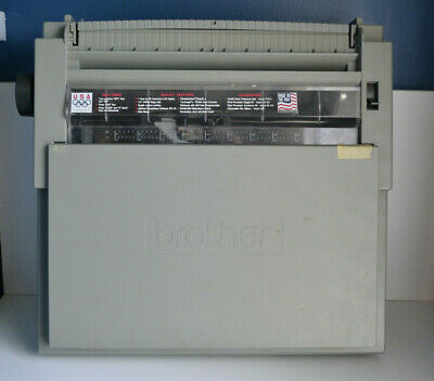 Brother Wp-760d Portable Electronic Word Processortypewriter - Tested