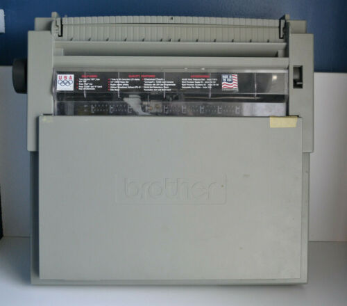 Brother WP-760D Portable Electronic Word Processor/Typewriter - Tested