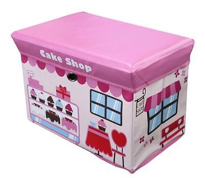 Global Decor Toy Box CAKE SHOP Kid Decor Children's Storage
