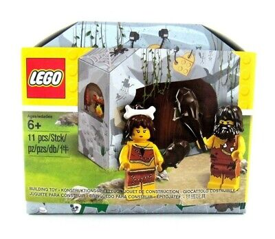 Lego 5004936 Iconic Caveman & Cavewoman New in Sealed Box