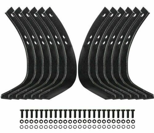 Craftsman Roto Tiller Tines Set of 12 Replaces 4460J, 4459J, 6554J, 6555J