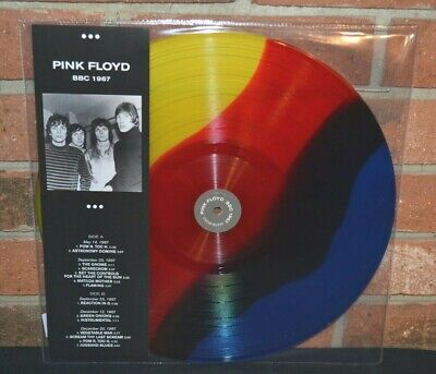 PINK FLOYD - BBC 1967, Limited Import COLORED VINYL LP New!